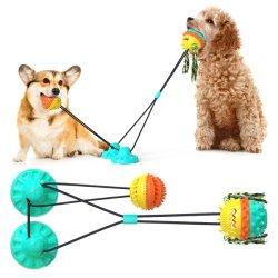 Caoutchouc mou Pet Toy brosse à dents dentaires Jouet interactif de nettoyage chien Chew Chew