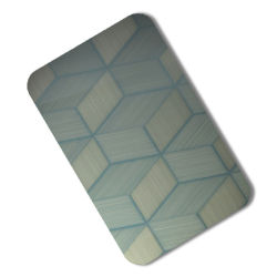 Le trait fin gravure miroir en acier inoxydable Feuille Feuille des armoires de cuisine en acier Prix par tonne