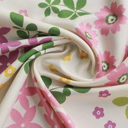 윌델리는 가정용 섬유 폴리에스테르 해산 꽃으로 베드시트 패브릭을 인쇄했습니다 도매