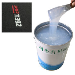 Silicona líquida de alta calidad para la base de los revestimientos y recubrimientos para telas de color general