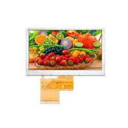 4,3 pouces Anti-Reflection RVB 24 bits du module de panneau tactile TFT LCD Capsctive moniteur LCD d'alimentation USB