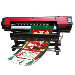 de Hoofd Digitale Inkjet Eco Oplosbare Printer van 1.6m 5FT XP600 Dx6 Dx11
