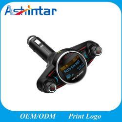 Transmissor FM universal para automóvel Áudio Bluetooth Handsfree carregador USB do adaptador de rádio sem fio