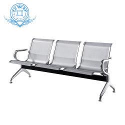 Производитель стальных аэропорта больницы стул комната ожидания стул стулья на металлической современной домашней мебели для использования вне помещений для отдыха на стенде стул сад место Председателя