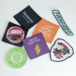 Custom acessórios de vestuário Vestuário Etiqueta emblema distintivo tecidos bordados Patch