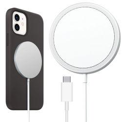 RoHS Großhandelsfaltbare bewegliche Handy 15W Magsaf Qi drahtlose magnetische nachladbare Batterieleistung-Auto-Arbeitsweg USB-Standardaufladeeinheit für iPhone 12 PRO3