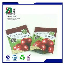 Sacchetto a chiusura lampo impaccante della chiusura lampo del cursore della frutta pura dell'uva del PPE del LDPE