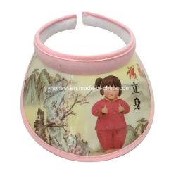 Última Promoción barata visera de plástico personalizada a los niños/CAP/Hat