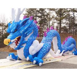 Bekanntmachen Mall-Dekoration-Dino-aufblasbarer Drache-aufblasbarer riesiger Drache der kundenspezifischen Inflatables chinesischen Maskottchen für Stadt-Parade