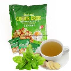 British Pure Instant Hortelã chá de gengibre com a FDA/HACCP/Certificado ISO