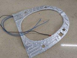 Asiento del inodoro el papel de aluminio de los componentes de calefacción