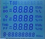 TN 12のディジットの燃料ディスペンサーLCDの表示