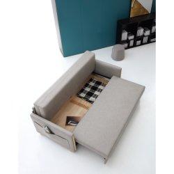 Marché de gros meubles Chesterfield Loisir simple moderne salle de séjour un canapé-lit de pliage de la sellerie de coupe