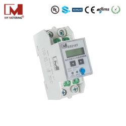 내장형 전류 변압기 1P 2W DIN 레일 MID 에너지 미터