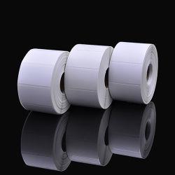 2018 Fashion plaine de papier thermique directe de l'emballage des aliments étiquette autocollant autoadhésif