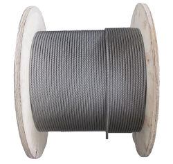 Heldere Flexibele Ss 304 van de Kabel van het Roestvrij staal Roestvrije Kabel 316