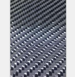Tissu de fibre de carbone de construction, feuille de fibre de 400k / M2 6k