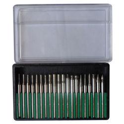 20ПК алмазные инструменты Electroplated щепок алмазов (JL-DMPS20)