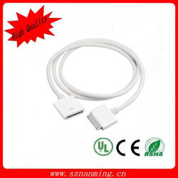 Белое Male к Pin Dock Extender Cable Female 30