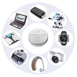 Assista a Pilha de botão de lítio CR927 3V Bateria