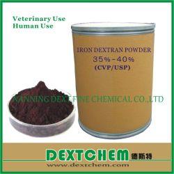 Het ingespoten Poeder GMP Supllier van het Dextran van het Ijzer van de Grondstoffen van de Geneeskunde van de Rang Voedings