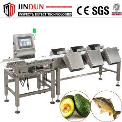 La comida de mariscos Langosta Peso de la máquina de clasificación con seis grados Multi-Sorting