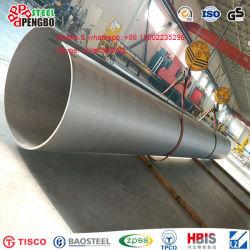 301 304 laminados a quente de tubos de aço inoxidável sem costura