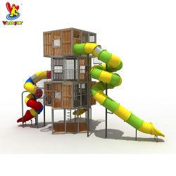 Детский игровой площадкой для установки вне помещений пунктов Китая профессиональный производитель