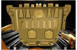 لوحة انزلاقية لمحرك من الألومنيوم البلاستيك عالي الجودة لشركة تويوتا فيوس