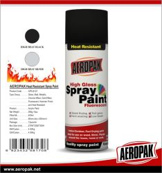 400 мл Aeropak высокое качество термостойкий аэрозольной краской
