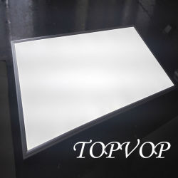 Usine de Shenzhen de haute qualité 2835SMD panneau LED de lumière 72W 600X1200