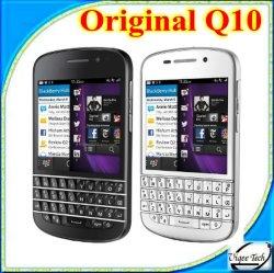Telefono mobile astuto poco costoso originale di prezzi 4G (BB Q10) per la mora