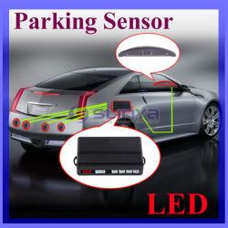 Capteurs de stationnement à LED de voiture en marche arrière du système de surveillance radar de sauvegarde avec rétroéclairage affichage + 4 capteurs de gros de 6 couleurs