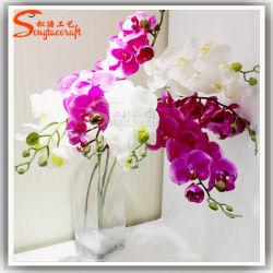 Décoration de mariage vraie touche d'Orchidées Plantes Fleurs artificielles