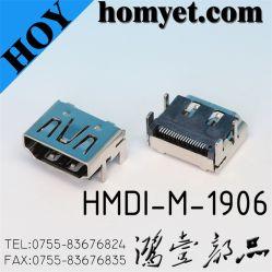 Std Ra SMT HDMI Connecteur HDMI (HDMI-M-1906)