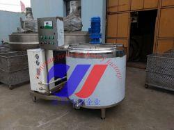 Acero inoxidable 300 L de agua y combustible de almacenamiento de leche del tanque de refrigeración de ordeño&de Productos Lácteos