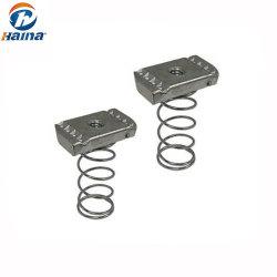 Porca de mola 304/316 de aço inoxidável para mobiliário e da máquina
