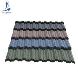 Grand classique de la qualité Decra colorés Stone tuile métallique enduite