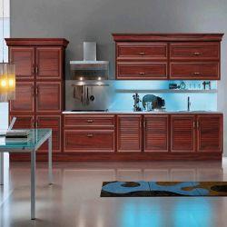 Meubilair van het Kabinet van het Aluminium van de Korrel van de Bestseller het Moderne Houten voor Keuken