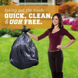 Transporteur d'épicerie en plastique de qualité industrielle de l'emballage des chemises de Corbeille sac poubelle