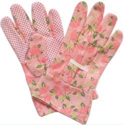 Vente chaude Fleur Jardin gant de travail des femmes (JMC-321Q)