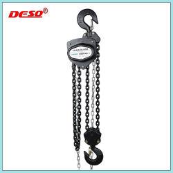 Costruzione sollevamento manuale paranco a catena in acciaio / blocco a catena manuale Tipo A.