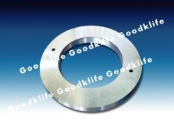 Las cuchillas de corte giratoria, cuchilla de corte circular de metal Línea de corte longitudinal
