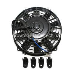 Produtos de Corridas de assalto 4500802 8 ventilador de arrefecimento do radiador eléctrico preto ATV UTV W Kit de Montagem