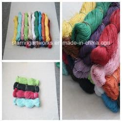 1 mm de cordon ciré, tressé Cordon coton ciré, commerce de gros Cordon coton