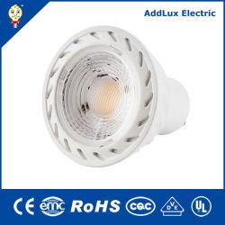 lampadina del riflettore della PANNOCCHIA Gu5.3 LED di 220V Dimmable 5W fatta in Cina per l'hotel, accento, barra, contatore, sala d'esposizione, visualizzazione, illuminazione della camera da letto dalla migliore fabbrica del distributore