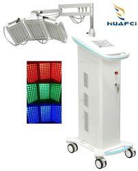 피부 관리 아름다움 피부 관리 PDT 빨간 파란 황록색 LED