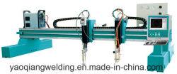 CS Ssの鋼板CNCのストリップのガントリー血しょうガスの斜角が付く打抜き機