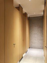 Debo Compact laminate HPL Shoe Box Series قسم المرحاض التجاري