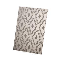 Цены на заводе класса из нержавеющей стали 304 0,65 мм зеркало заднего вида польский гравирования Silver CVD черный шаблон стены четырех футов Декоративная пластина